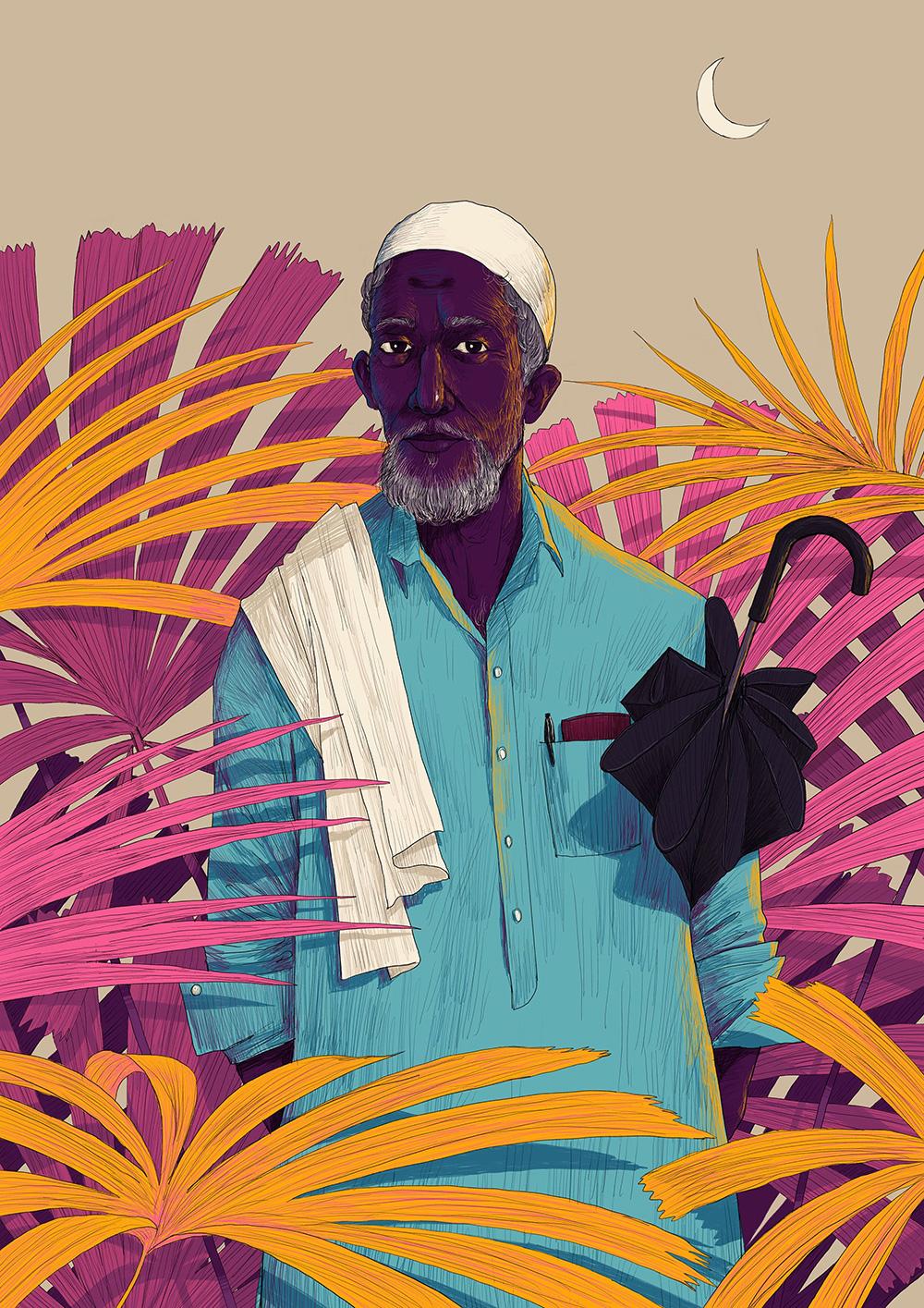 全球资讯_印度插画师Muhammed Sajid插画欣赏 - 视觉同盟(VisionUnion.com)