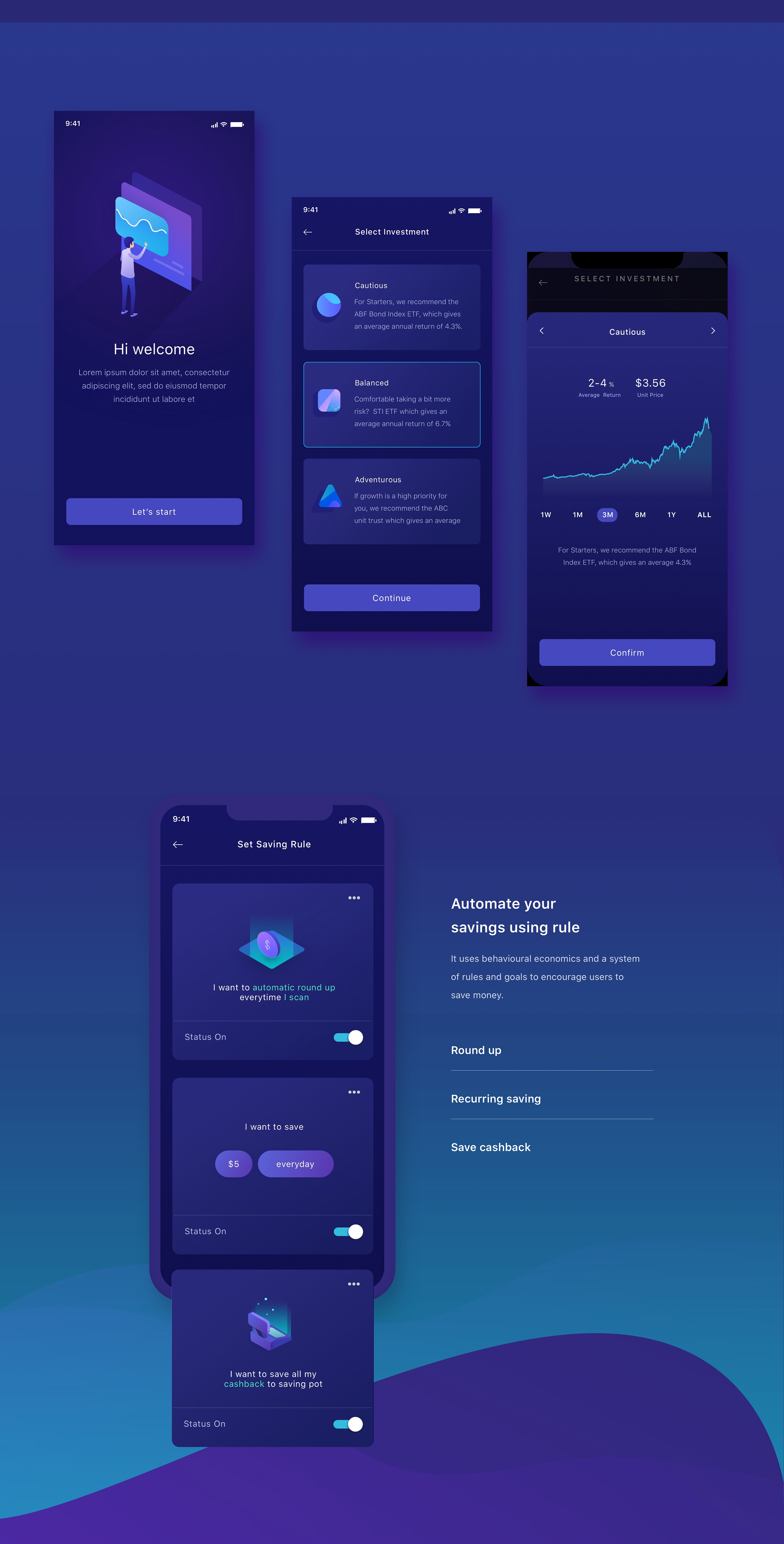 国际资讯_Invest Mobile App UI设计 - 视觉同盟(VisionUnion.com)