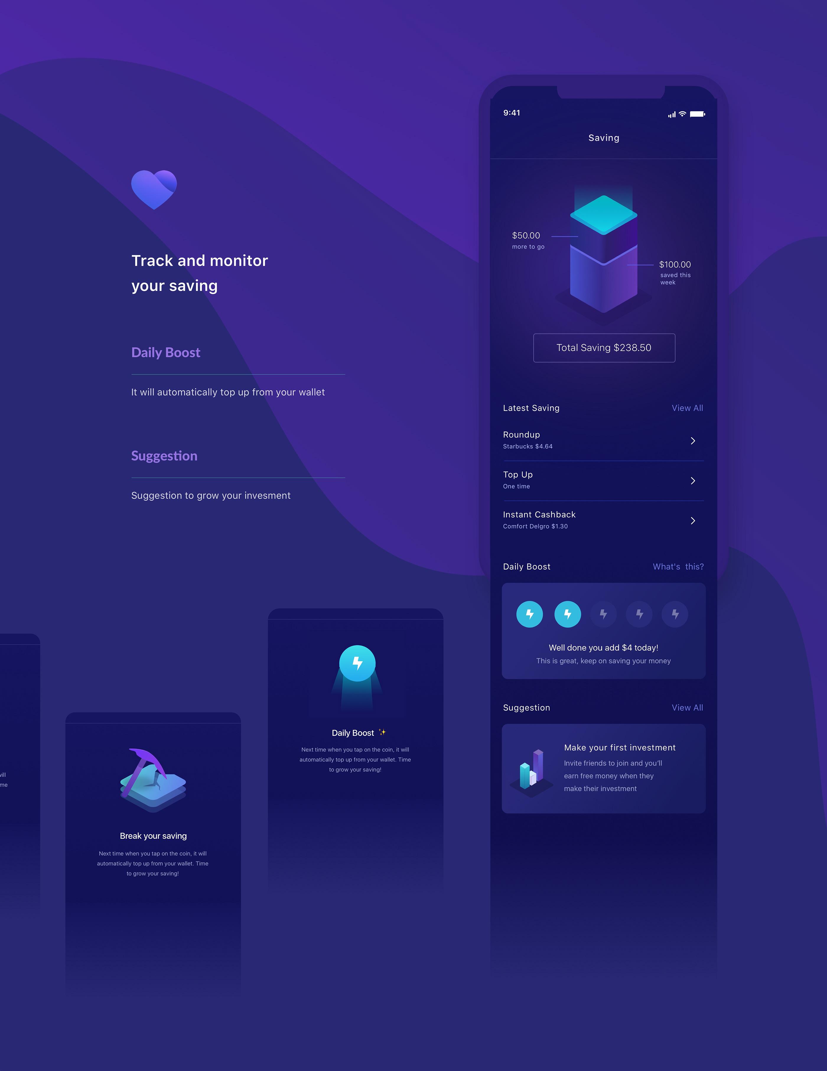 体育资讯_Invest Mobile App UI设计 - 视觉同盟(VisionUnion.com)