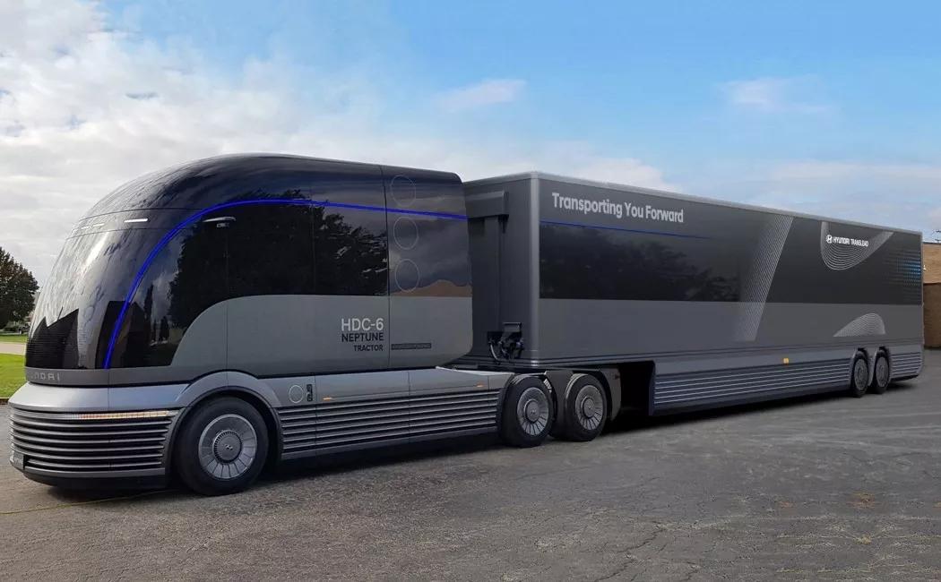 现代汽车推出氢燃料电池概念卡车