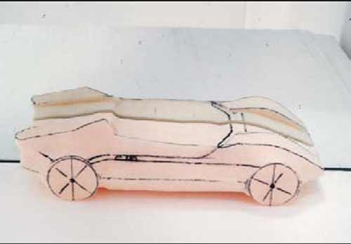 德国学生的1:1汽车模型制作(1) - 视觉同盟(VisionUnion.com)