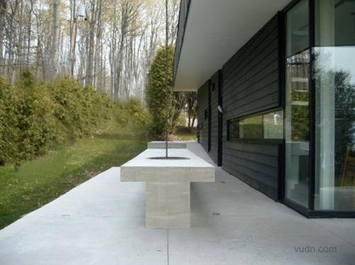 加拿大湖邊別墅室內外設計