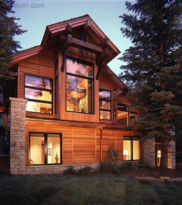 科羅拉多州度假別墅室內外設計